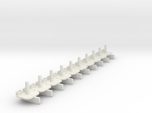 BraidGuide_SCXcompact in White Natural Versatile Plastic