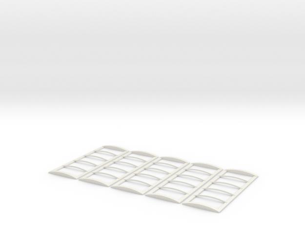 22' Roll Over Tarp Frame Builders pack in White Natural Versatile Plastic