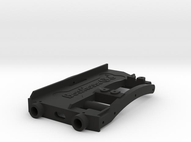 HD Battery Tray + Servo & Bumper Mount for SCX10 2 in Black Strong & Flexible