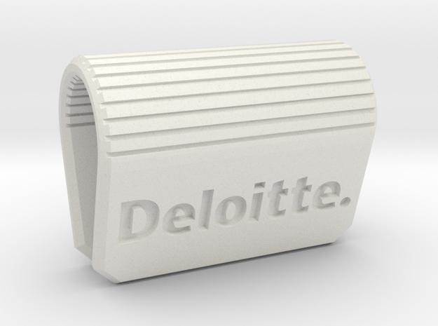 Webcam-Clip Deloitte Edition  in White Natural Versatile Plastic