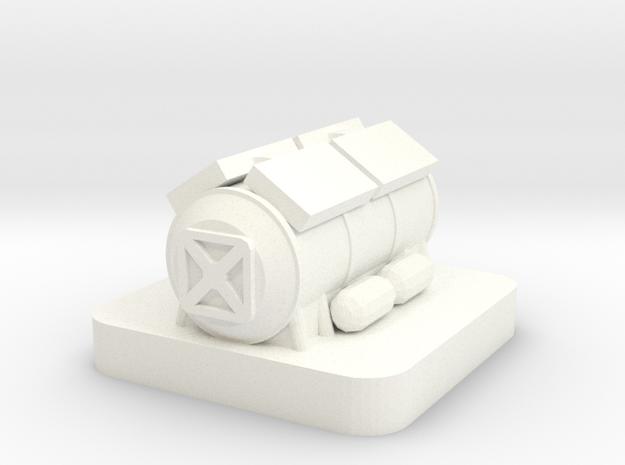 Mini Space Program, Science Lab in White Processed Versatile Plastic