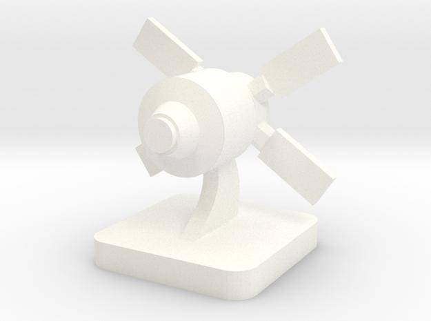 Mini Space Program, ATV spacecraft in White Processed Versatile Plastic