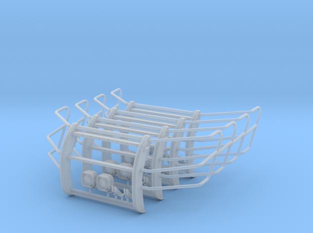 1-24_setina_interceptor_suv_guard_x4 in Smooth Fine Detail Plastic