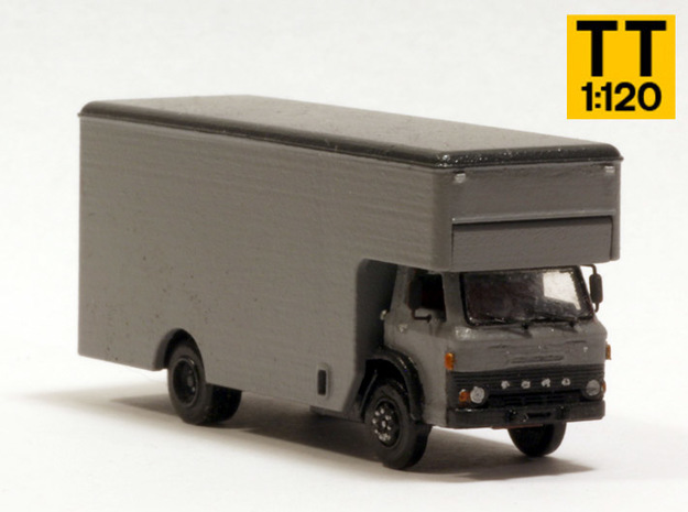 Ford D series moving truck TT scale in Smoothest Fine Detail Plastic