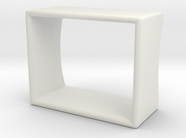 Speaker with jet engine design (part 3/3) in White Natural Versatile Plastic
