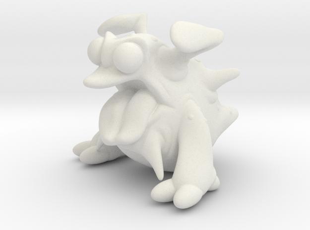 Alien_Toungie in White Natural Versatile Plastic