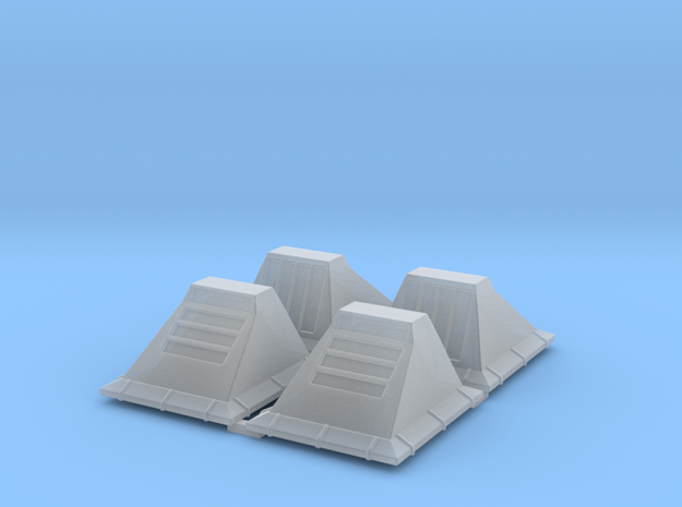 1:43/44 Scale SW Floor Utility Lights in Smooth Fine Detail Plastic