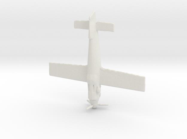 1:144 Hütter Hü 136 Stubo in White Natural Versatile Plastic
