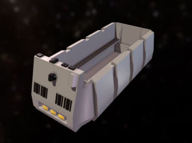 Rebel Troop Carrier 1:72  with benches in Smooth Fine Detail Plastic