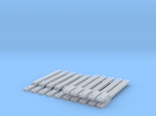 1/64 Drawbar 10 pack in Frosted Ultra Detail