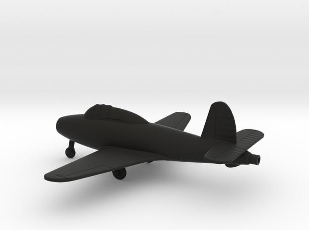 Gloster E.28/39 Pioneer in Black Natural Versatile Plastic: 1:100