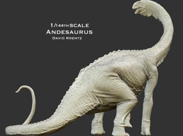 Andesaurus 1/144 Krentz 3d printed Description