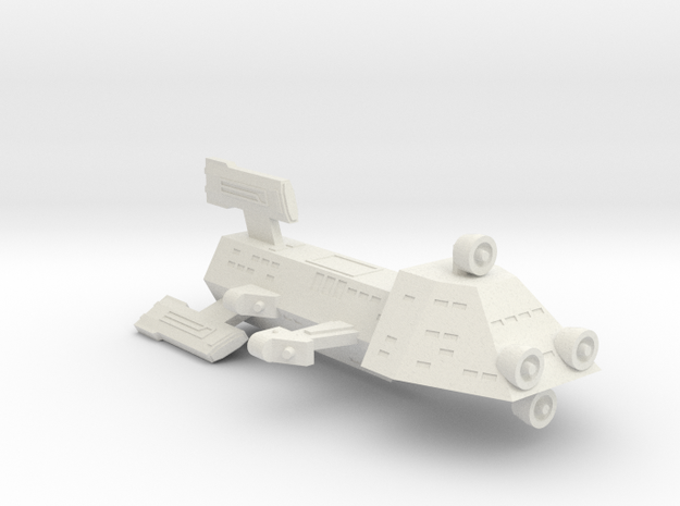 3788 Scale Kzinti Scout Destroyer (DDS) SRZ in White Strong & Flexible