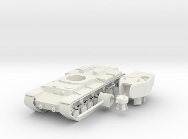 1/100 KV-220 in White Natural Versatile Plastic