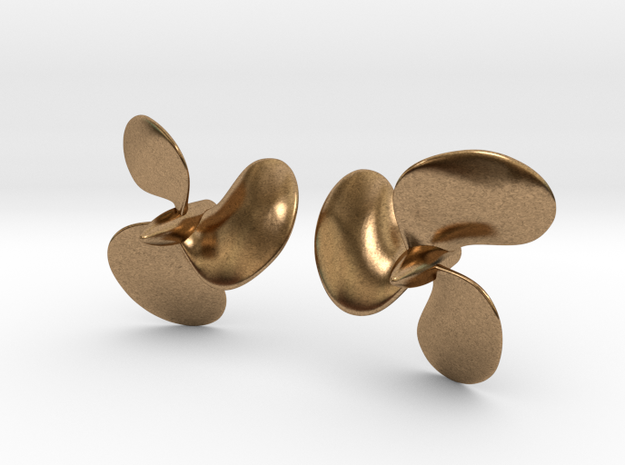 1/72 Royal Navy Tribal Class Propellers (Brass) in Natural Brass