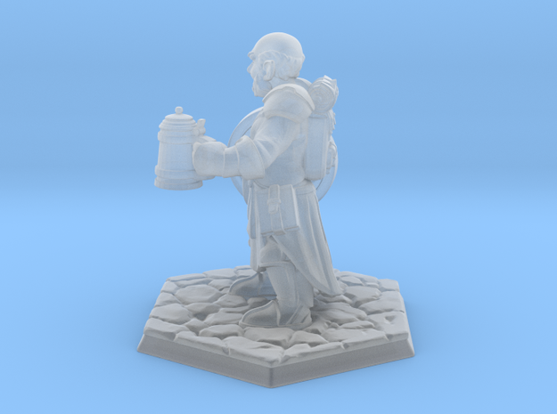 Halfling in Smooth Fine Detail Plastic