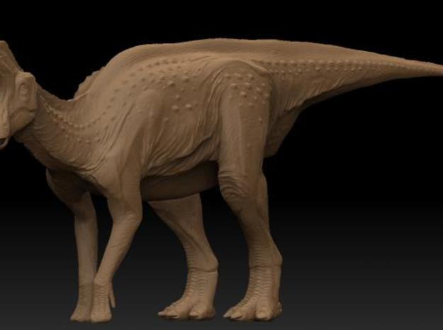 Lambeosaurus m. Standing Large 3d printed Description