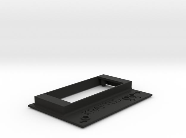 BusHub top in Black Natural Versatile Plastic