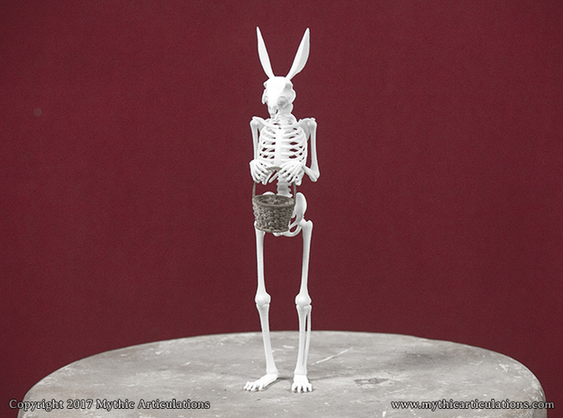 Easter Bunny Skeleton
