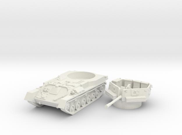 ZSU -37 tank (Russia) 1/56 in White Natural Versatile Plastic