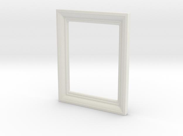 Small Frame 1 in White Natural Versatile Plastic