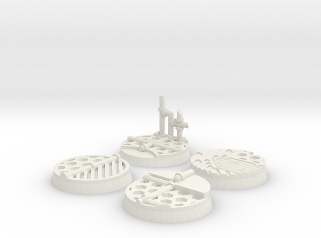 Sci-fi 25mm bases