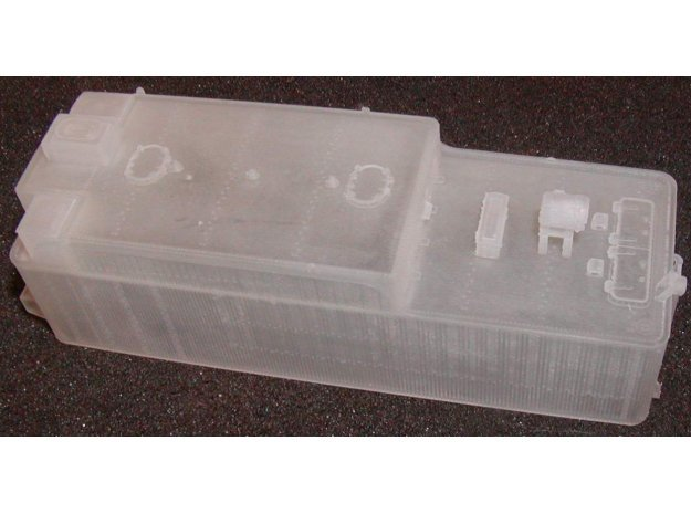 ATSF 12K tender shell in Smooth Fine Detail Plastic