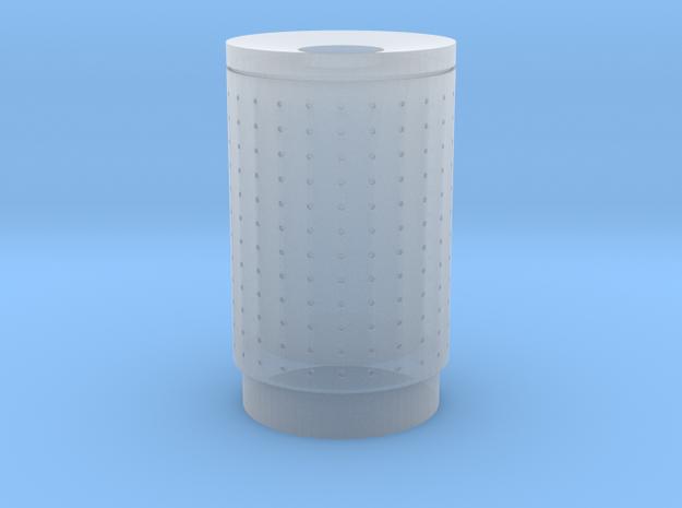 DSB 80L Affaldsbeholder (Litter bin) 1:87 in Smooth Fine Detail Plastic