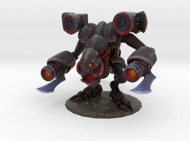 Battlecast Prime Cho'Gath in Full Color Sandstone
