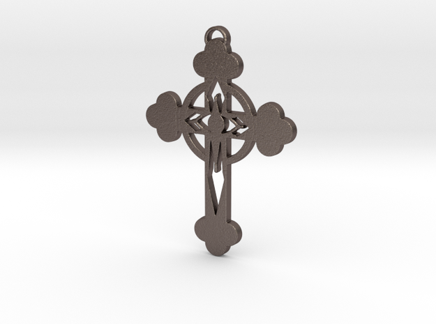 The Lacer Cross in Stainless Steel