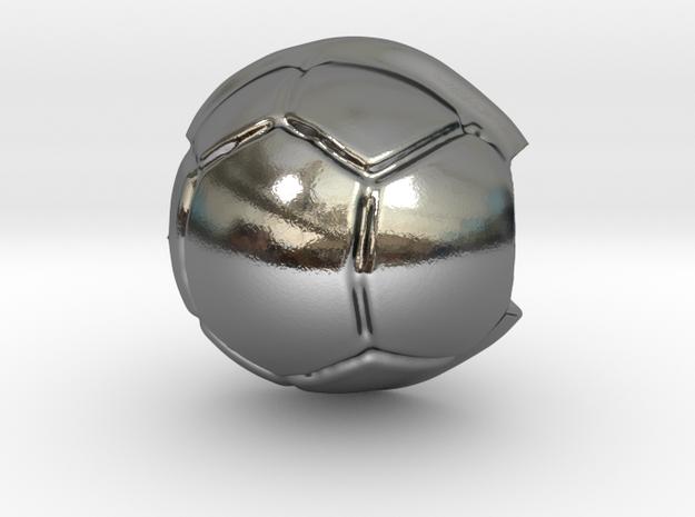 Koopa shell in Polished Silver