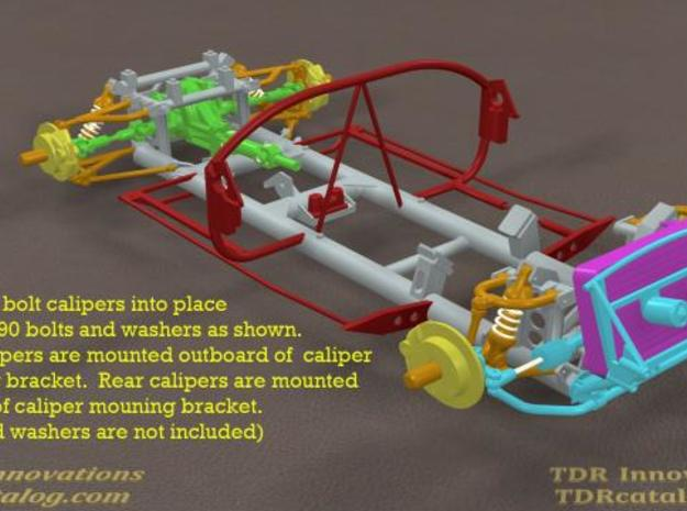 TDR 427 Roadster Brake and Battery Kit 3d printed Description