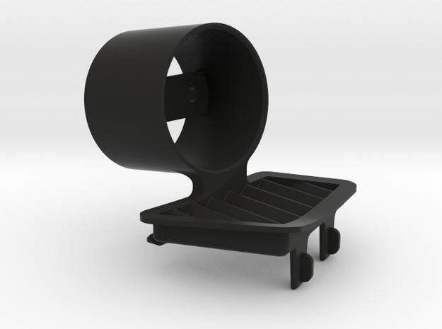 RHD E9X Gauge Pod in Black Natural Versatile Plastic