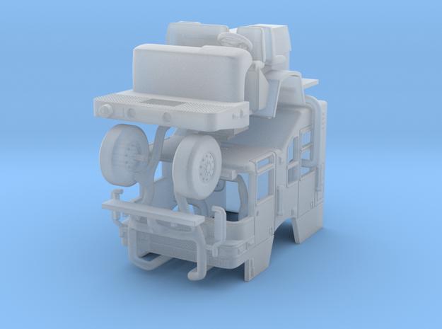 1/160 Pierce Quantum Squad cab in Smooth Fine Detail Plastic