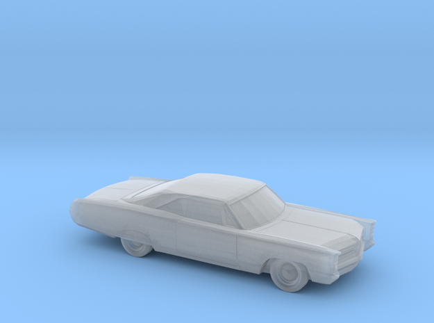 1/220 1966 Pontiac Bonneville Coupe in Frosted Ultra Detail