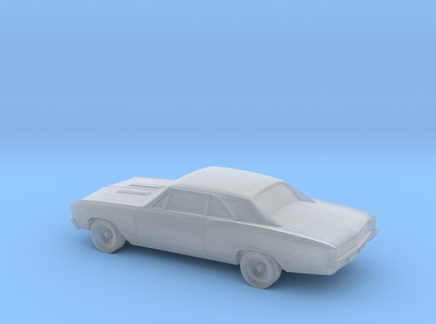 1/220 1967 Chevy Chevelle in Smooth Fine Detail Plastic