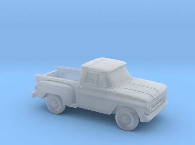 1/220 1962 Chevrolet C-10 Stepside in Smooth Fine Detail Plastic