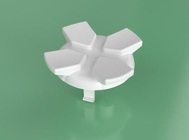 D-Pad mod for XBox controller in White Natural Versatile Plastic