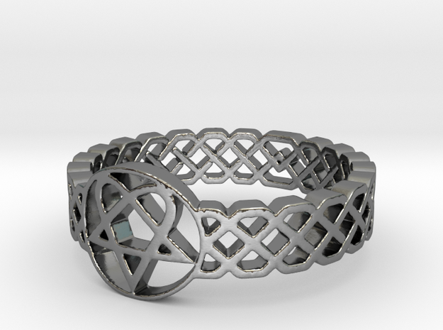 Love Metal Knot Band Ring
