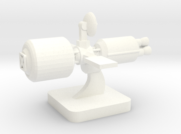 Mini Space Program, Interplanetary Ship 1 in White Processed Versatile Plastic