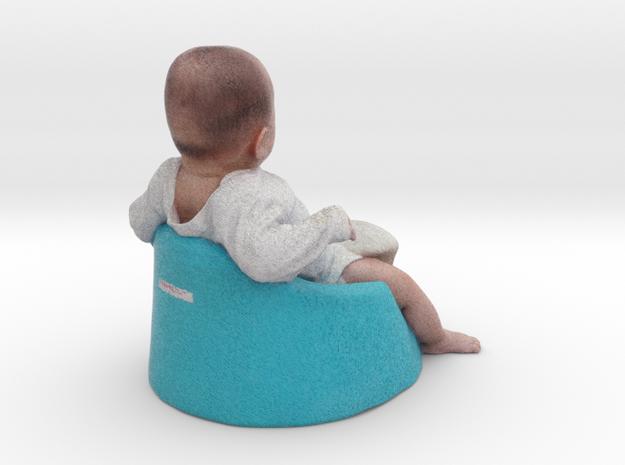 baby boy - 6CM High in Full Color Sandstone