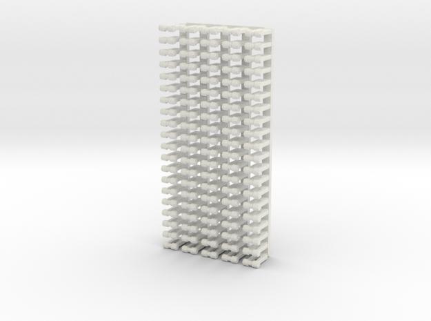 Small Shakles in White Natural Versatile Plastic