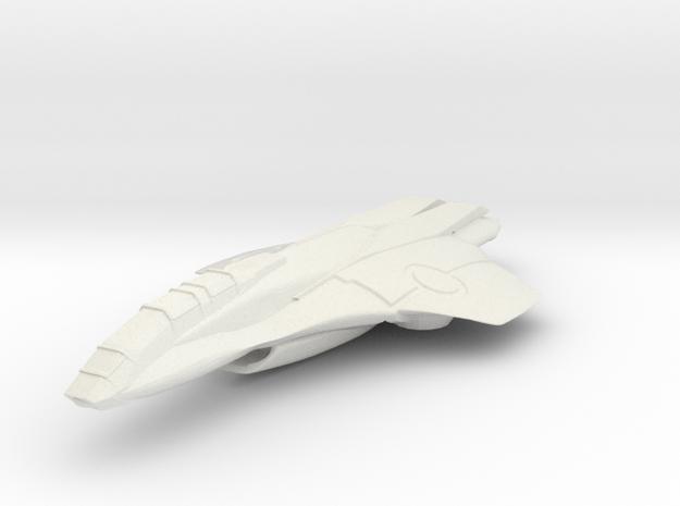 fighter_3 in White Natural Versatile Plastic