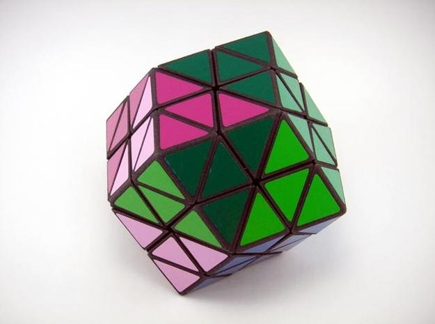 Rhombic18 Puzzle set A 3d printed Vertex Turn
