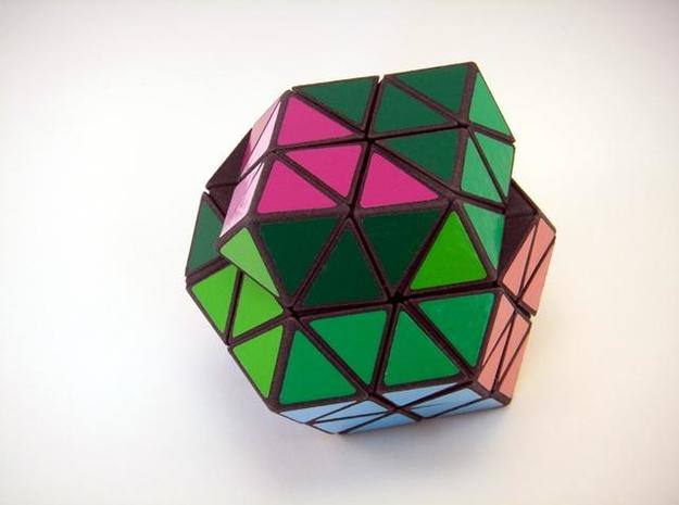 Rhombic18 Puzzle set A 3d printed Jumble Turn
