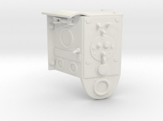 1/6th scale Bren gun/Universal carrier Instrument  in White Natural Versatile Plastic