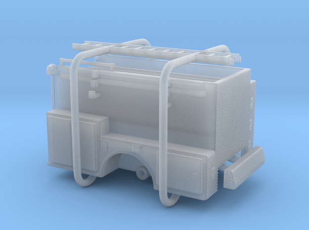 1/160 ALF Engine body w/ compartment doors in Smooth Fine Detail Plastic