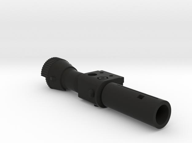 TR Megatron Cannon in Black Natural Versatile Plastic