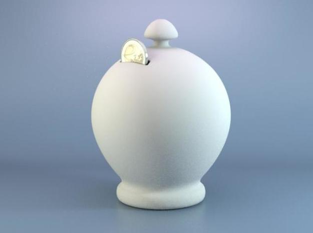 Classical Money Box in White Strong & Flexible
