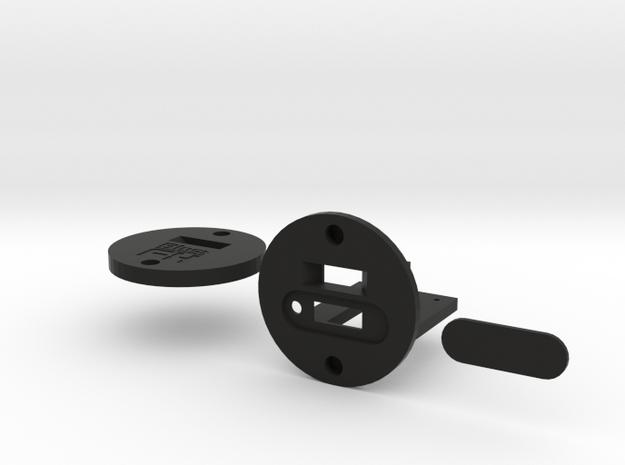 Blast FX - E11 USB Micro Charging Port in Black Natural Versatile Plastic